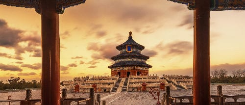 Temple Of Heaven, Bejing