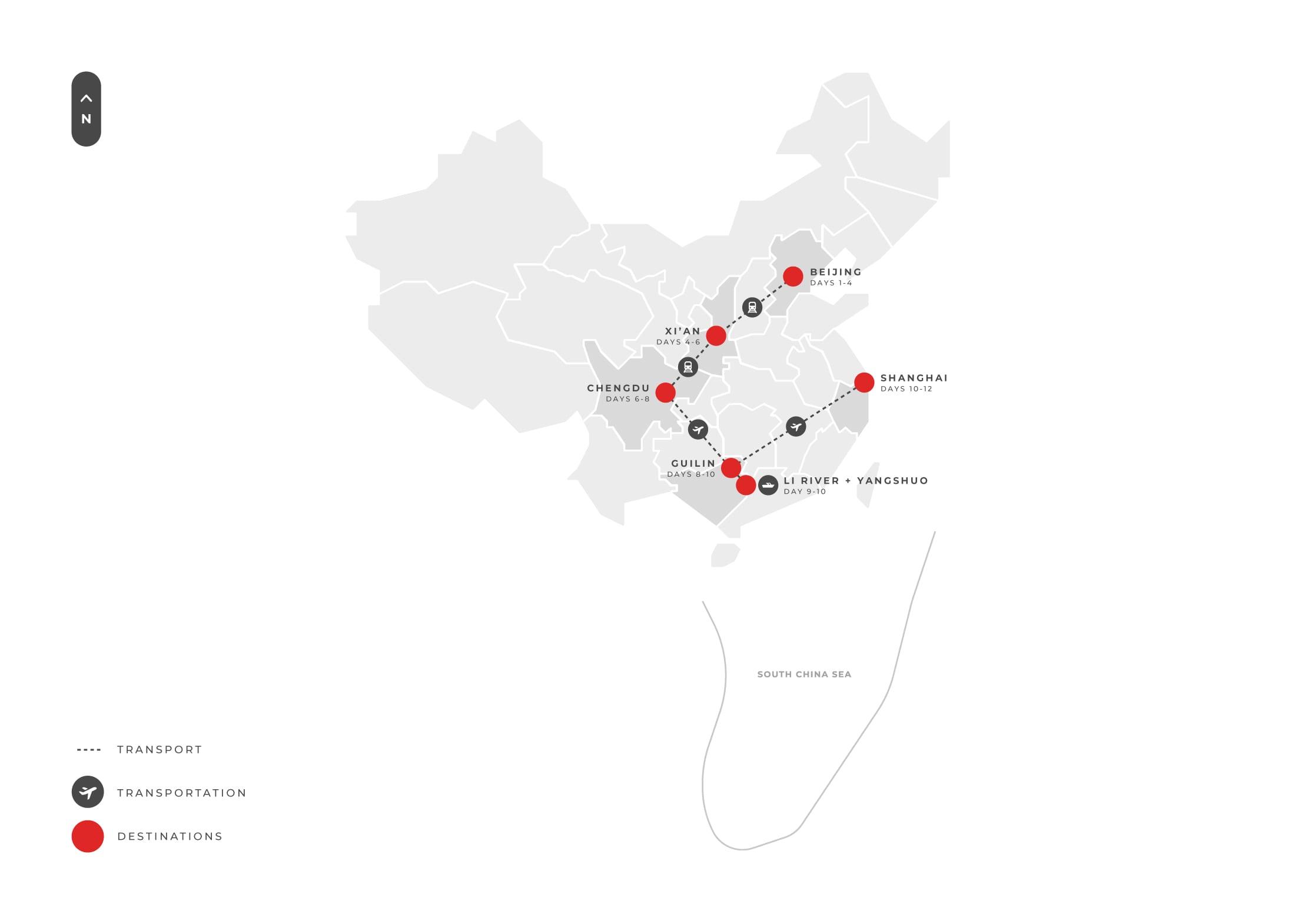 Tour 12 Days China Wonders And Pandas