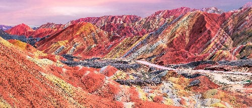 Zhangye Danxia National Park
