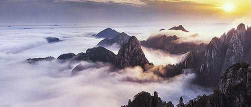 Mount Huangshan Of China