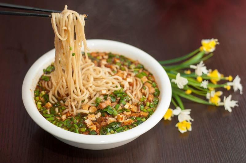 Spicy Pork Sauce Noodles