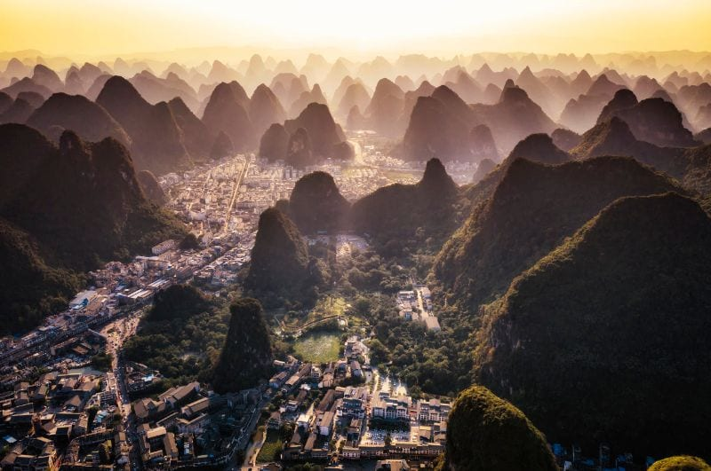 ancient town of Yangshuo
