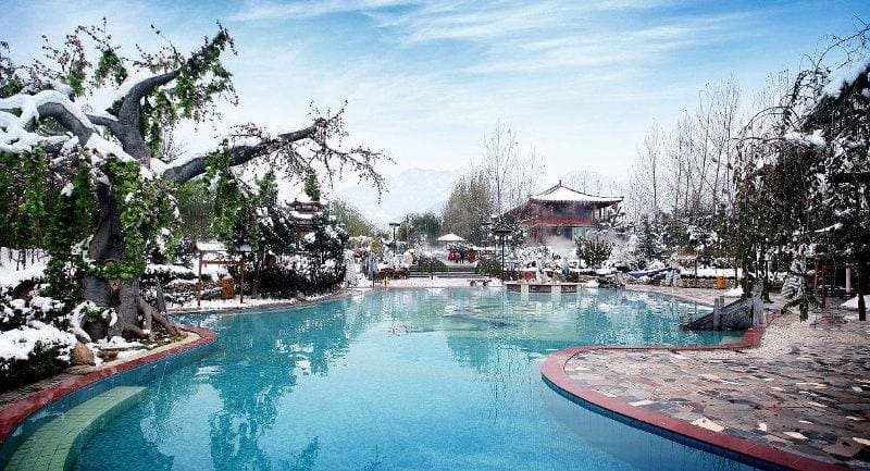 best hot springs near Xian
