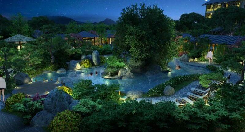 hot springs near Xian