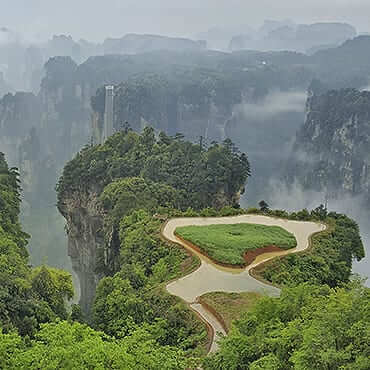 10 Days Essence of China and Magical Avatar Mountain Tour