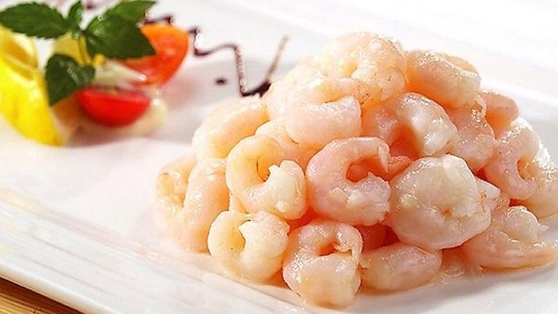 Shanghai Cuisine Sauteed Shelled Shrimps