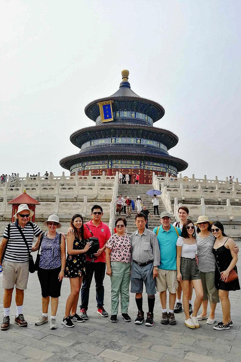 19 Beijing Ct19 Bg0618 Heaven Temple