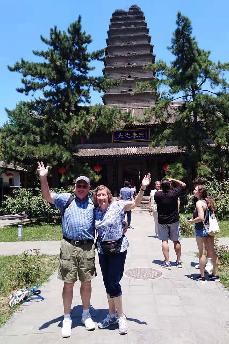 July 2019, Xian Wild Goose Pagoda 1