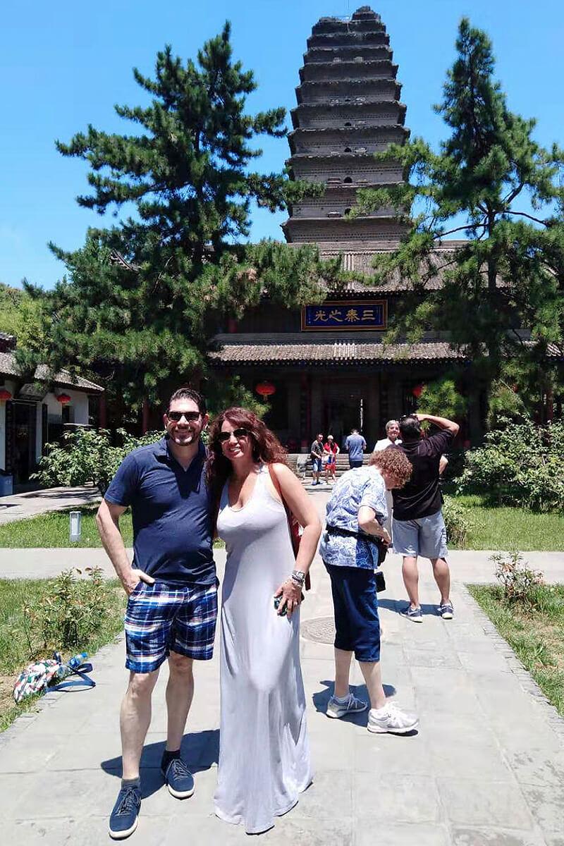 July 2019, Xian Wild Goose Pagoda 2