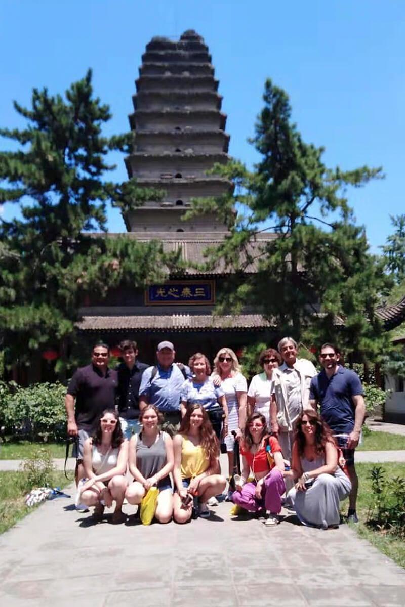 July 2019, Xian Wild Goose Pagoda 3