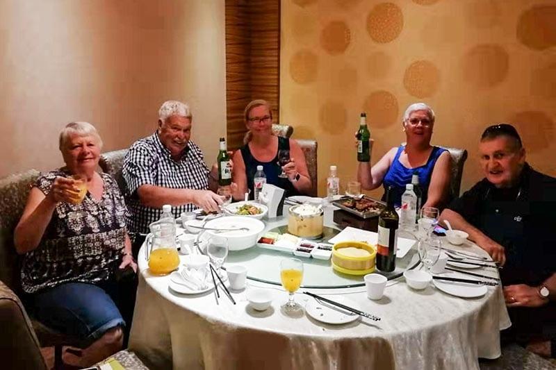 29 August Beijing Dinner