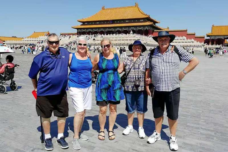 29 August Beijing Forbidden City