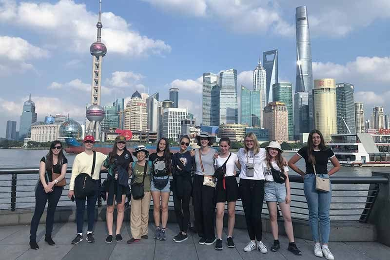 2019 China Tours Students Tour Shanghai 1