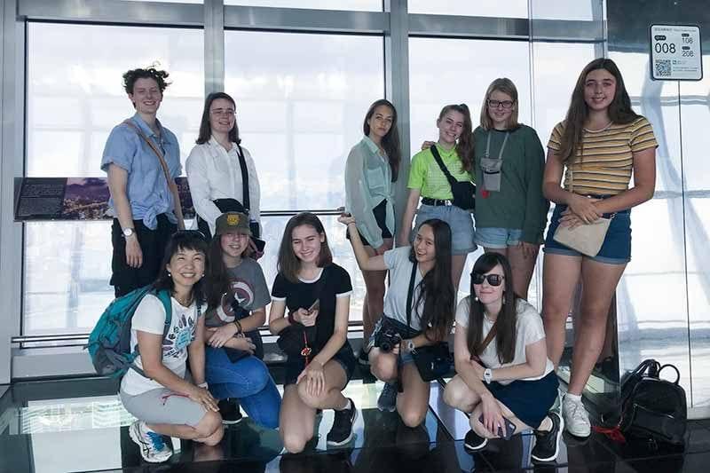 2019 China Tours Students Tour Shanghai 2