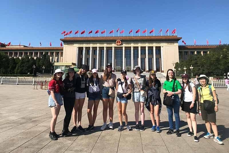 2019 China Tours Students Tour Tian An Men Square 1