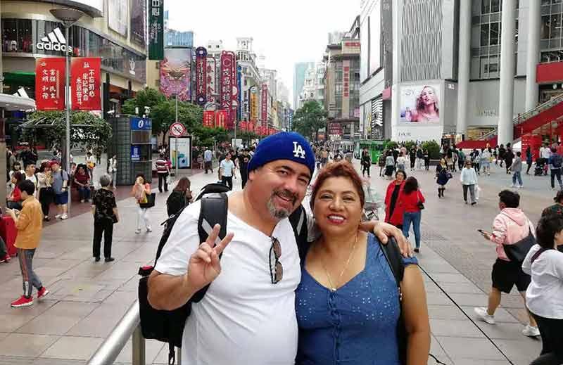 33 October 2019 Shanghai Nanjing Road