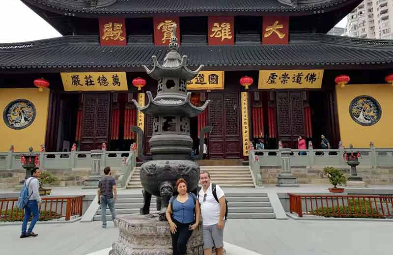 33 October 2019 Shanghai Yufo Temple