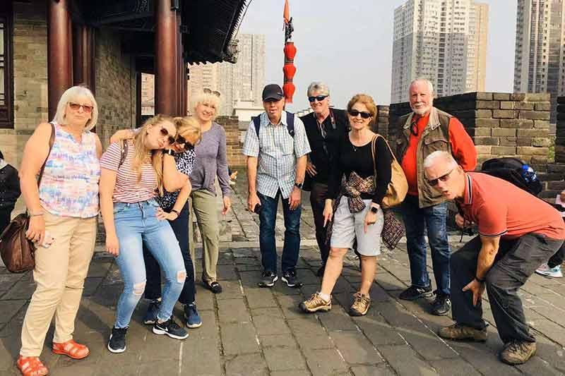 34 October 2019 Xian City Walk