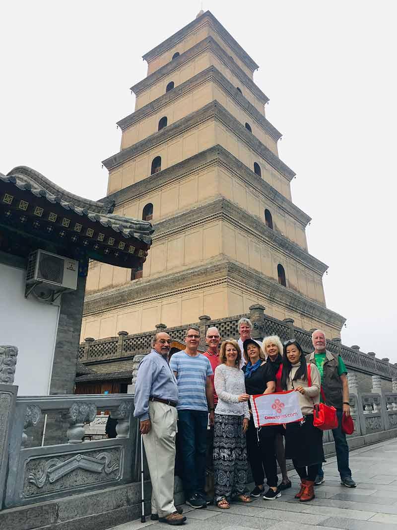 34 October 2019 Xian Wild Goose Pagoda