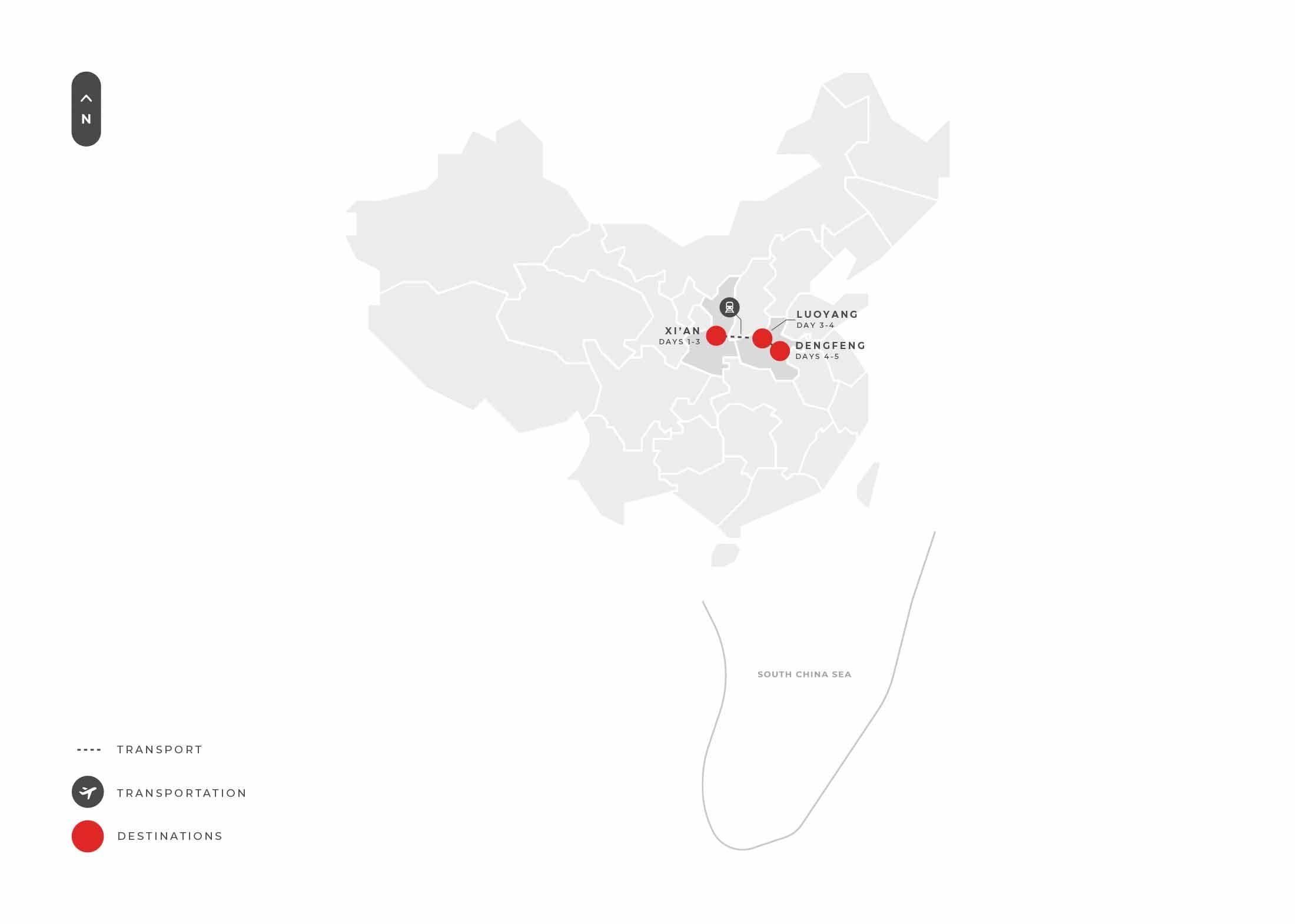Xian Xian + Luoyang 4n5d Kung Fu Tour S