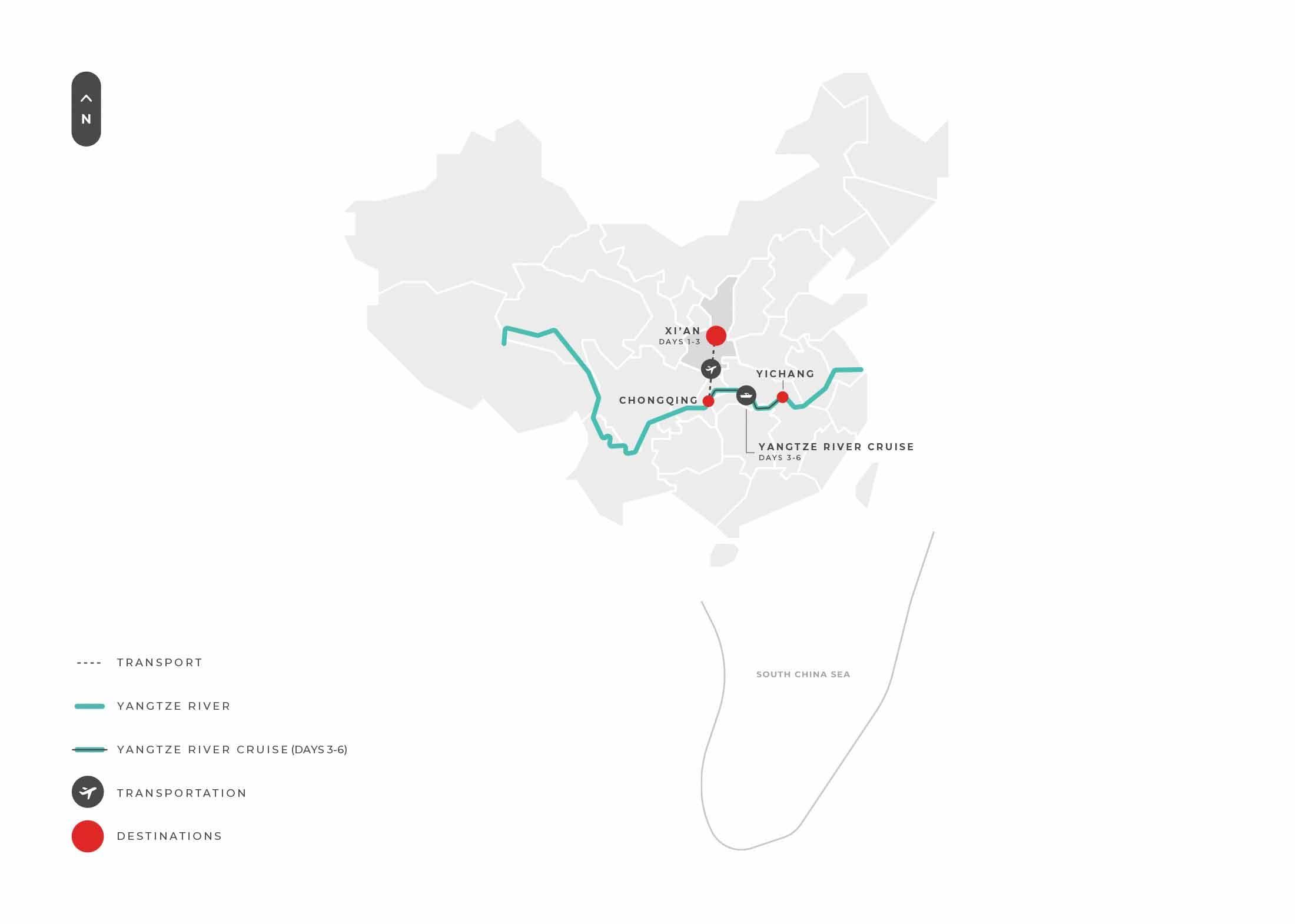 Xian Xian + Yangtze River Cruise 5n6d Tour S