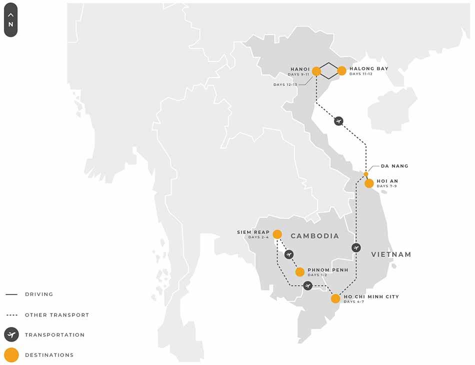 Indochina 13 Days Highlights Of Indochina Cambodia And Vietnam