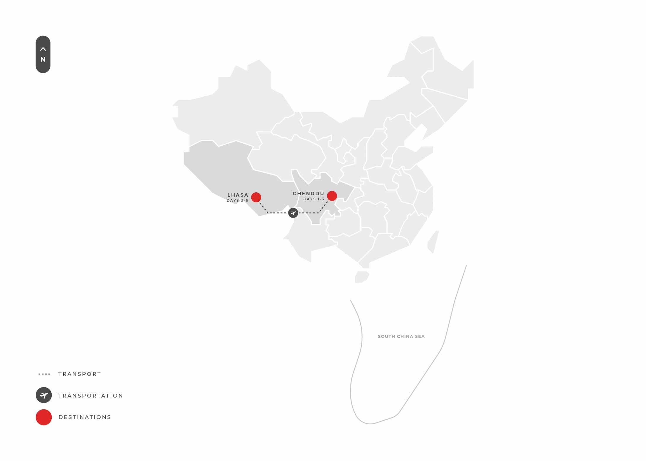 Chengdu 6 Days Chengdu And Lhasa Spotlight S