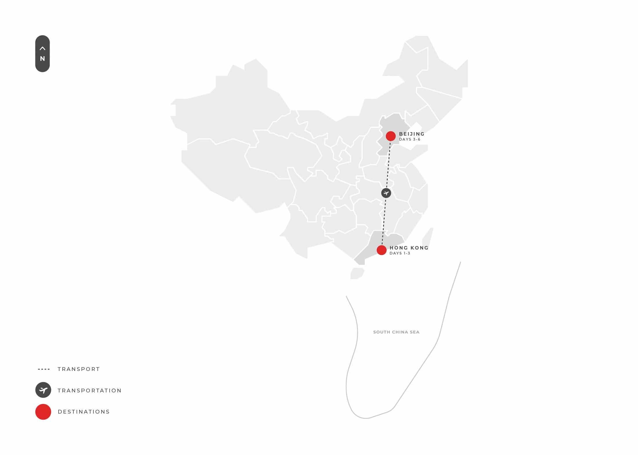 Hongkong 6 Days (hong Kong + Beijing) S