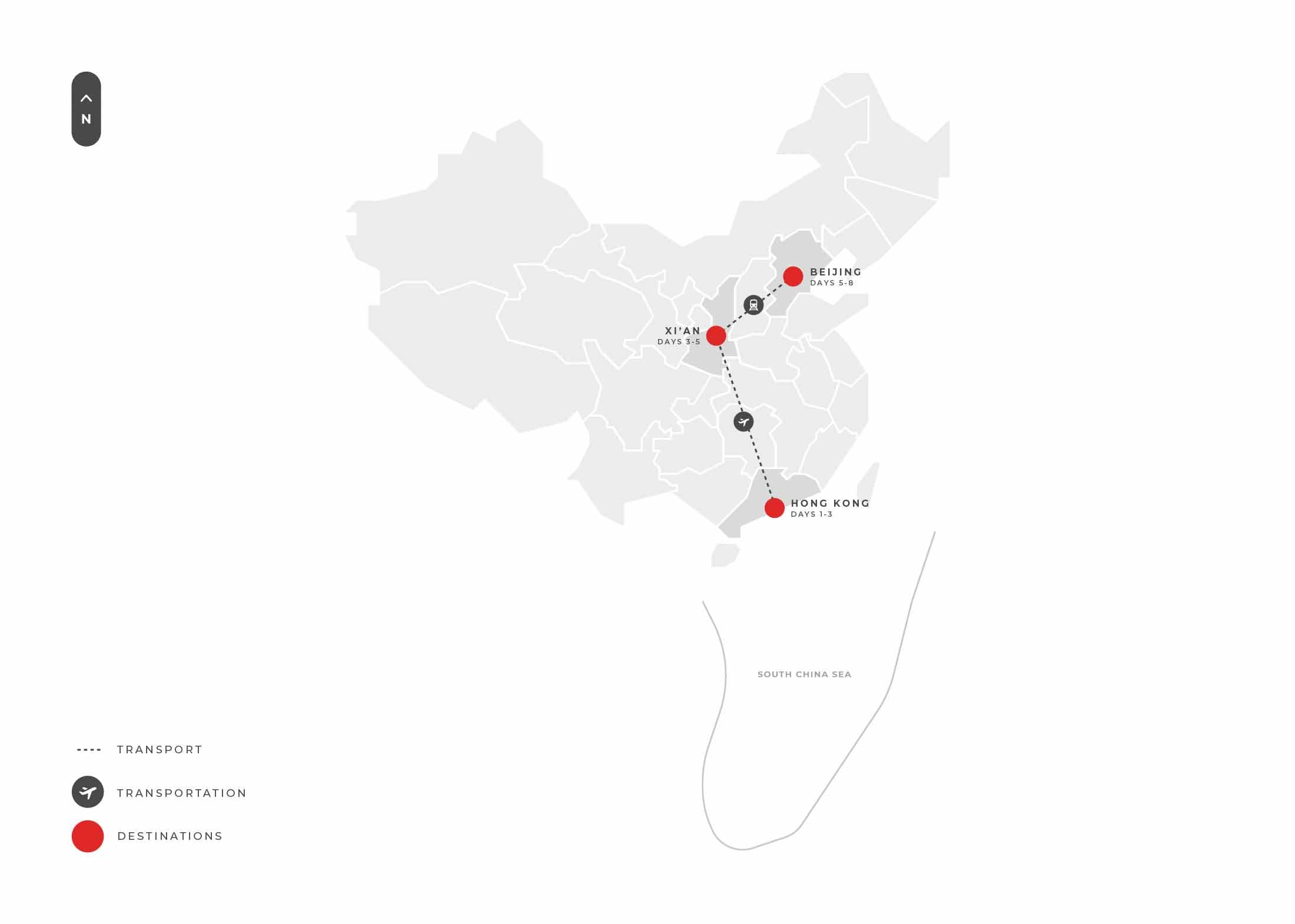 Hongkong 8 Days (hong Kong + Xian + Beijing) S