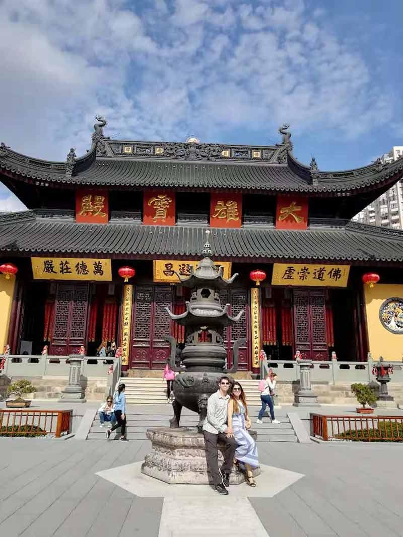China Tours October 2019 Shanghai Jade Buddha Temple