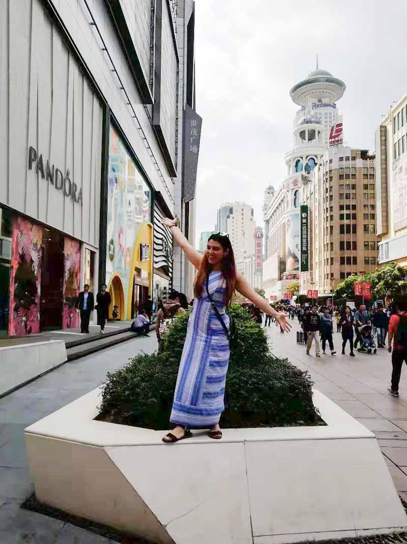 China Tours October 2019 Shanghai Nanjing Road 1