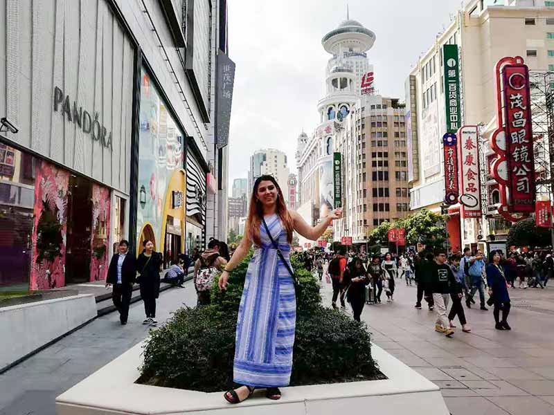 China Tours October 2019 Shanghai Nanjing Road 2