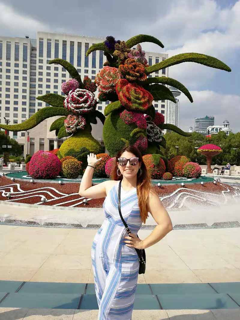 China Tours October 2019 Shanghai People Square 1
