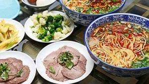 12 Lan Zhou Beef Noodles