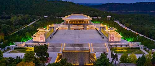 16 Mausoleum Of The Yellow Emperor