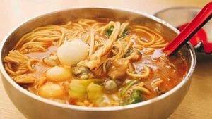 5 Sha Cha Noodle