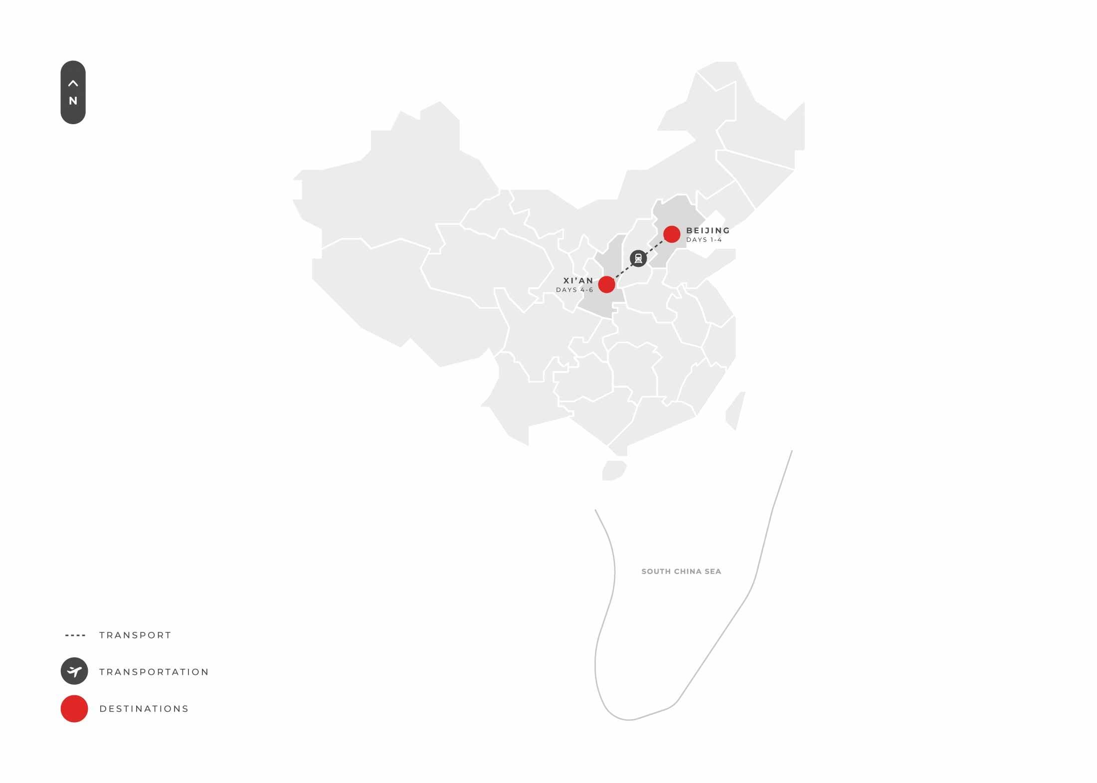 6 Days Beijing Xian S