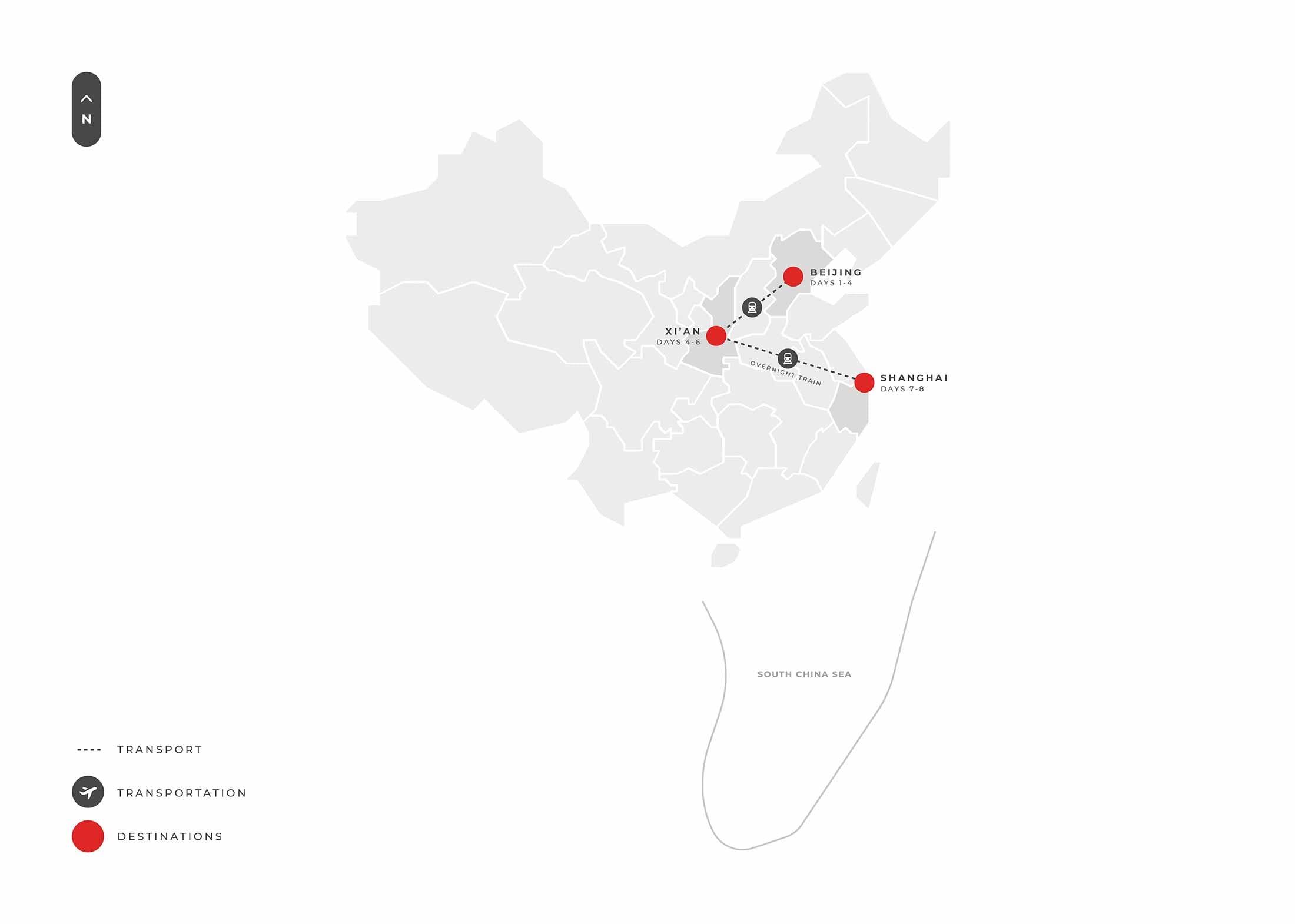 8 Days Beijing, Xi'an & Shanghai S