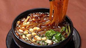 9 Sichuan Hot And Sour Rice Noodles