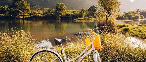 8 Cycling Along Yulong River 1
