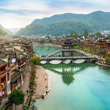 Zhangjiajie + Fenghuang Ancient Town + Guilin 8N9D Tour