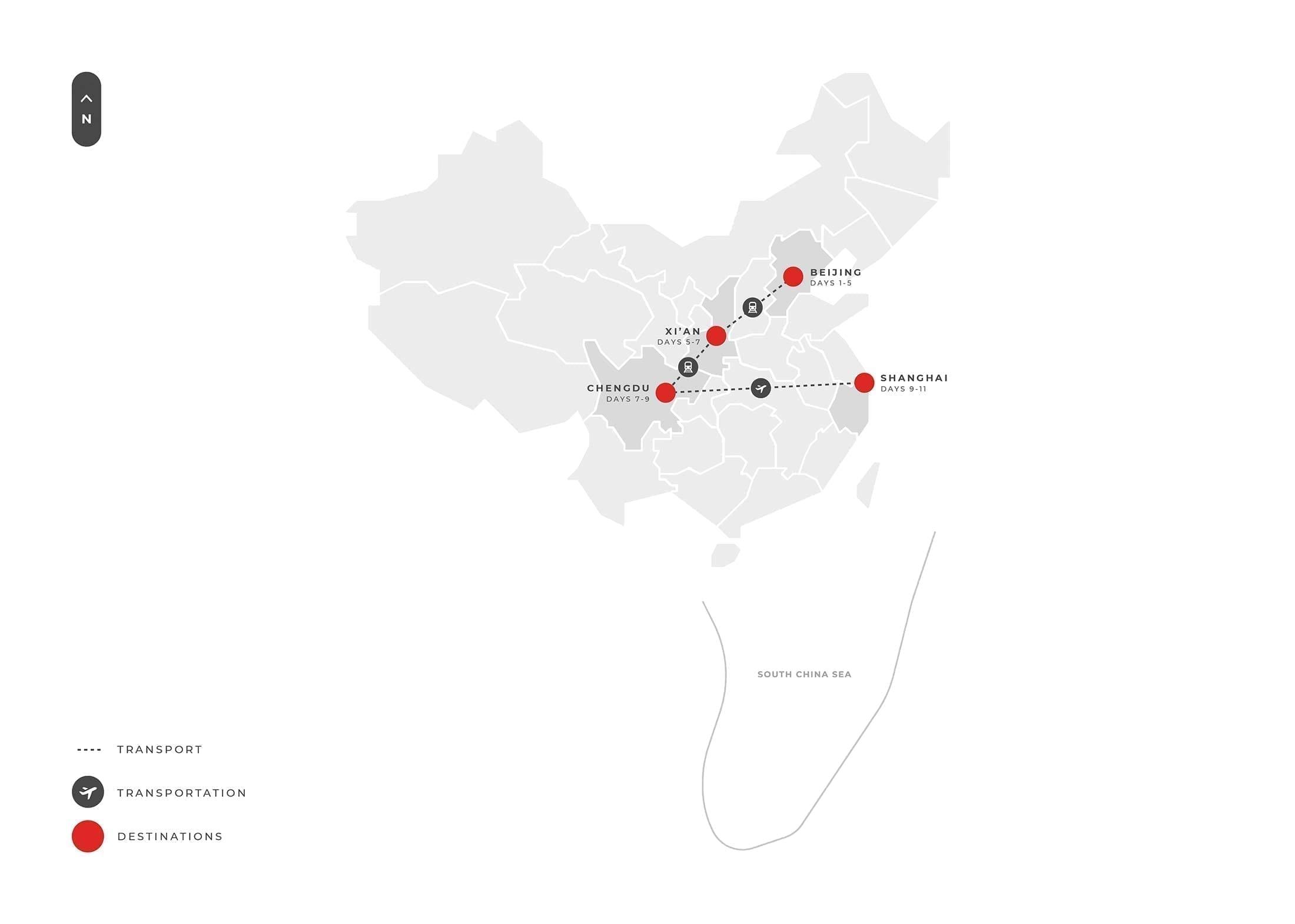 11 Days Best Of China + Panda Luxury Tour S
