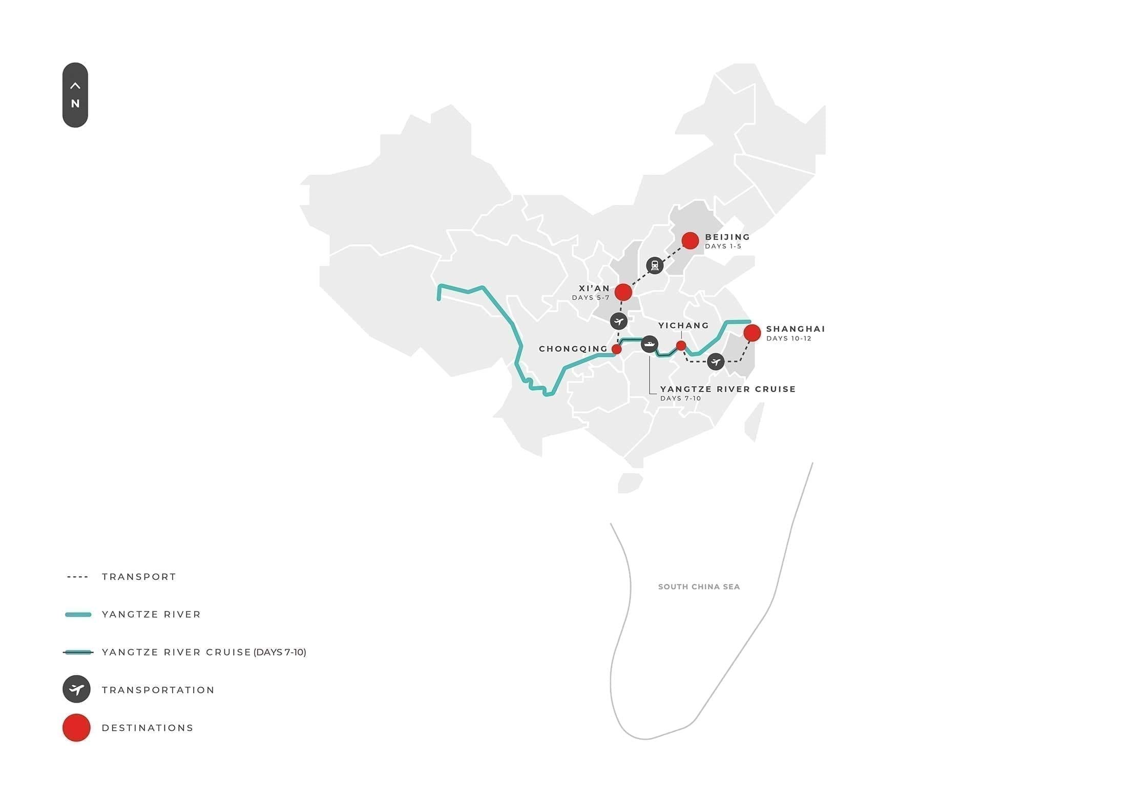 12 Days Luxury China + Yangtze River S