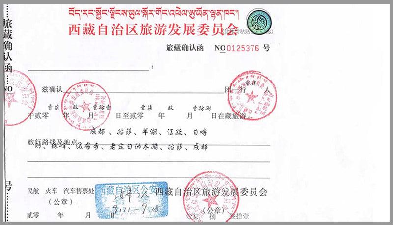 Tibet Permits