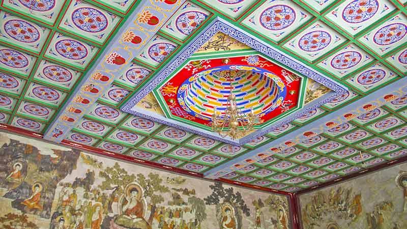 China Attraction Big Wild Goose Pagoda