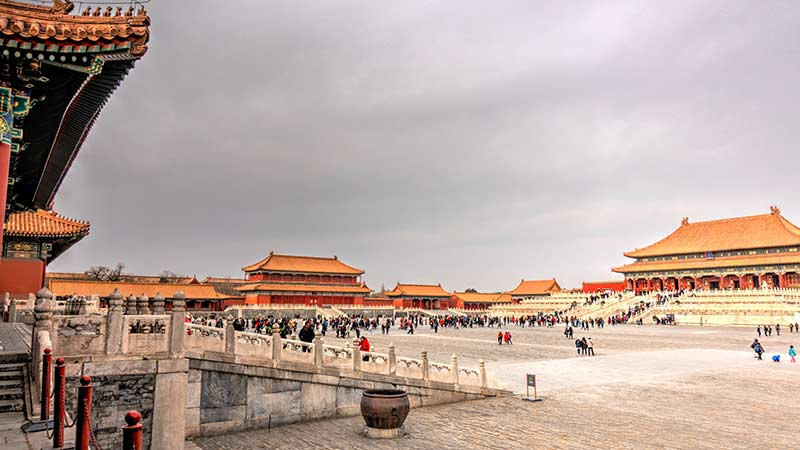 China Attraction Forbidden City