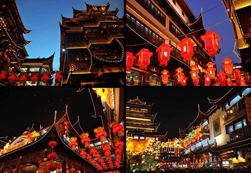 China Attractions Yu Plaza