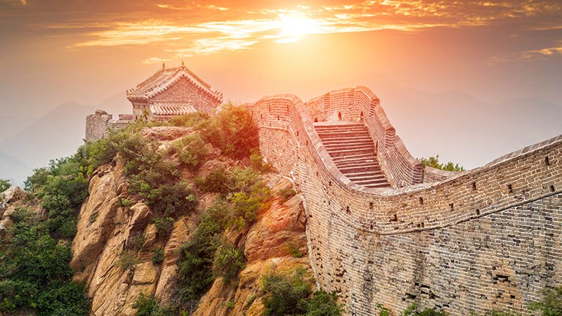China Attraction Great Wall