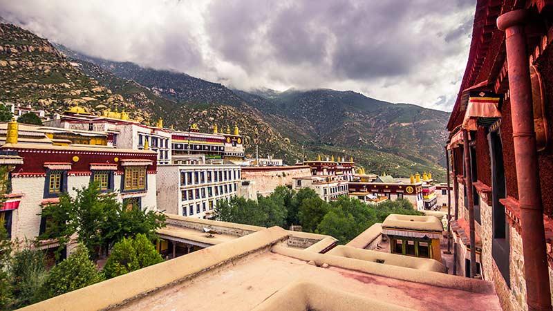 Buddhism In China Drepung Monastery