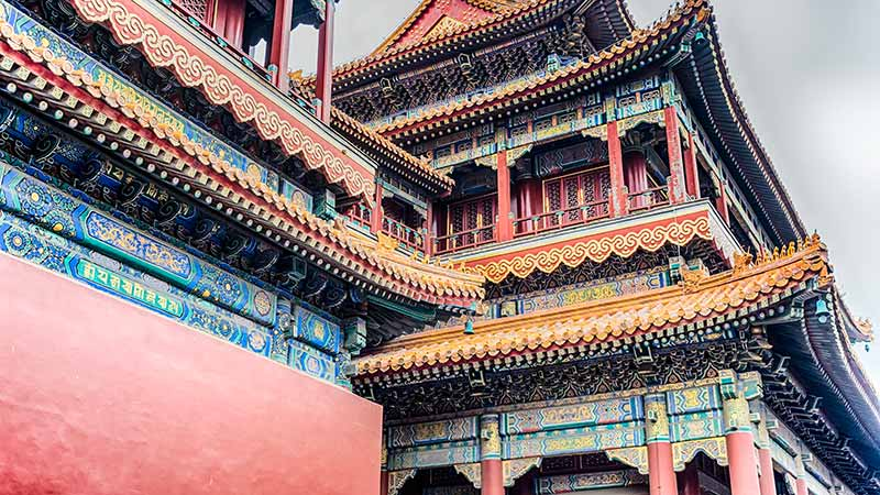 Buddhism In China Lama Temple